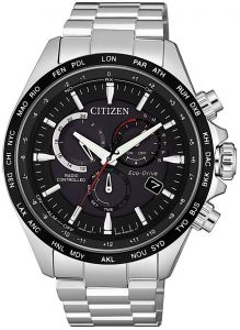 Citizen Eco-Drive Radio Controlled Sapphire Perpetual Chronograph Watch