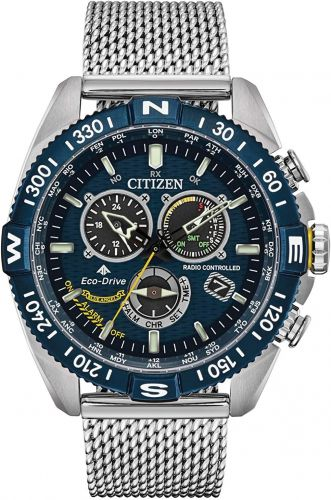 Citizen Eco-Drive Promaster Navihawk A-T Radio Controlled Chrono Perpetual Watch